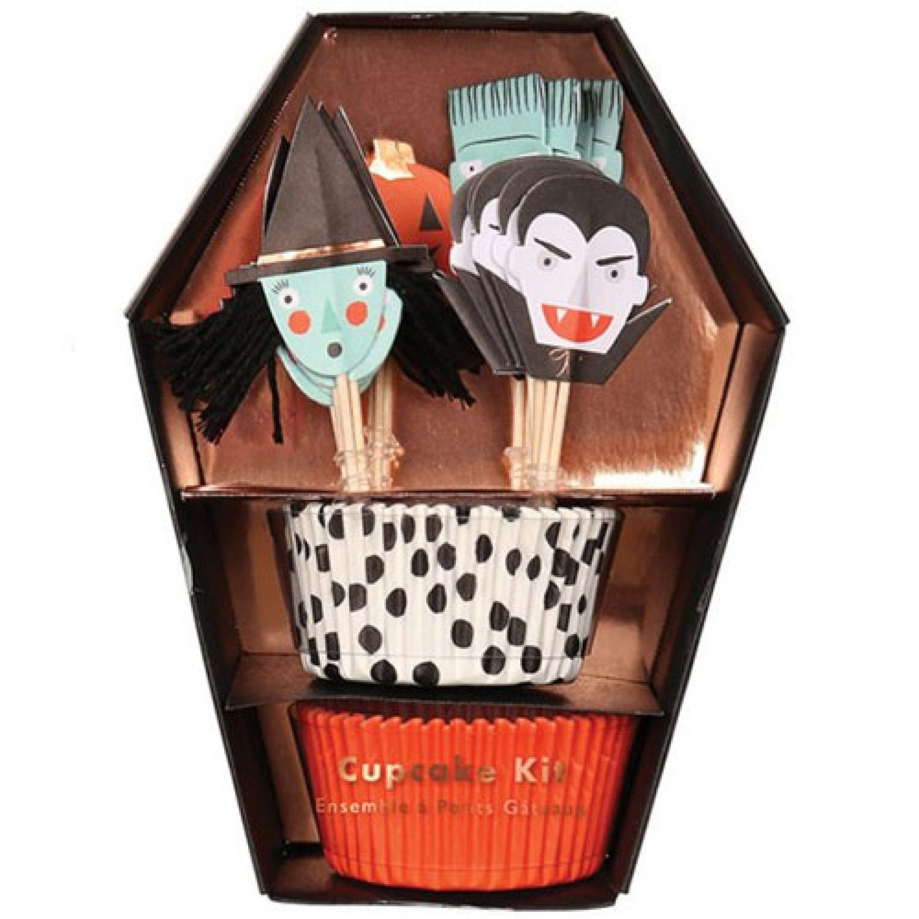 halloween cupcake kit (24 st)