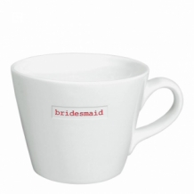 bridesmaid - bucket mug