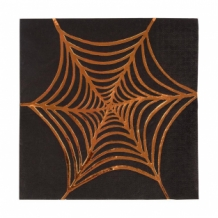 spooky colweb napkins
