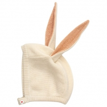 bunny baby bonnet pink