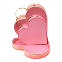 heart suitcase -small