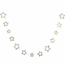 starry garland gold