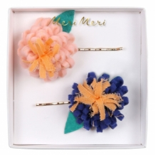 flower posy hair pins (2 st)