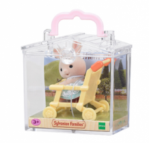 rabbit on pushchair - carry case