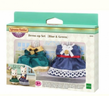 blue & green - dress up set