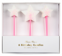 birthday candles - stars