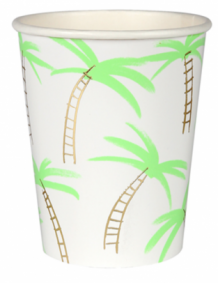 palmtree party cups