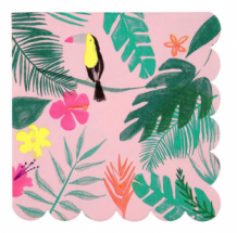 tropical napkins large
