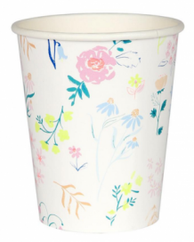 wildflower party cups