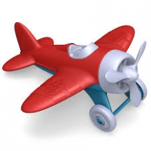 airplane - red - green toys