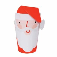santa party cups (8 st)