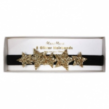 star glitter hairbands (8 st)
