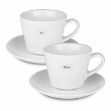 mr & mrs - espresso set