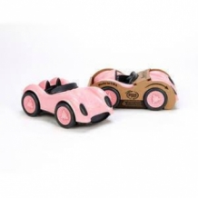 race car - pink - green toys
