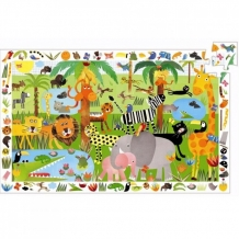 Djeco puzzle observation jungle (35 pcs)