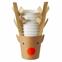 reindeer party cups (8 st)