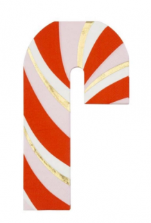 candy cane napkins (16 st)