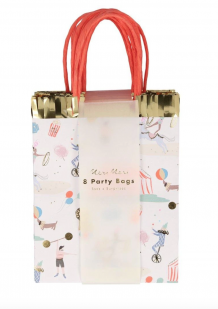 circus parade party bags - 8 st