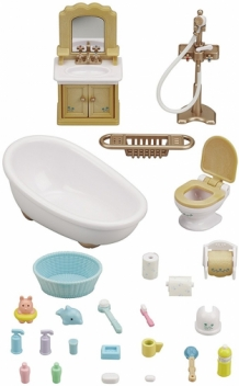 country bathroom set - new